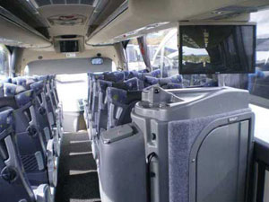 Large Coach interior