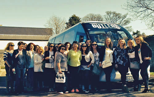 Cork hen party on bus trip